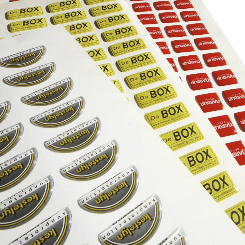 Stickers drukken