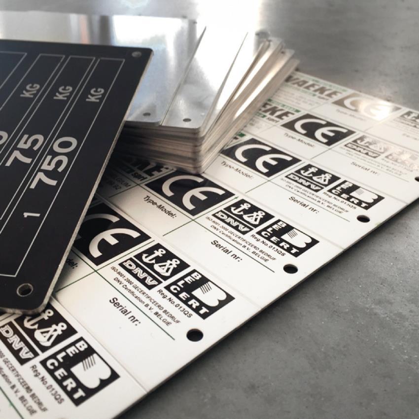 Machine labels