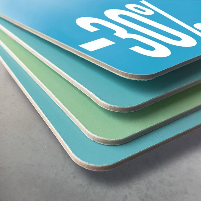 Waterbestendig displaykarton